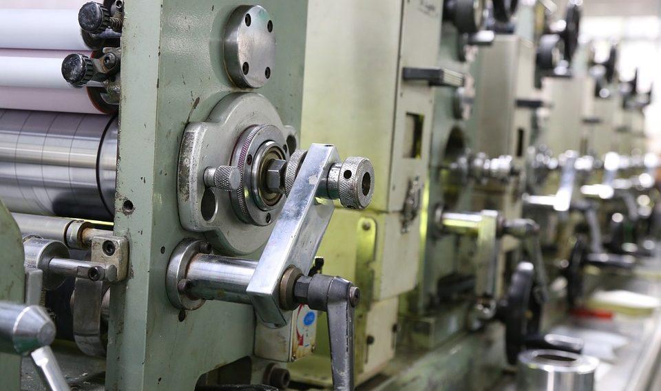 Mesin cetak offset di padang