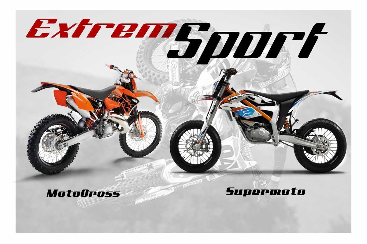 Olahraga Alam Dengan Motor Trabas Dan Supermoto