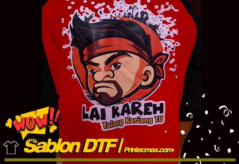 Sablon DTF | Padang | 081268895347