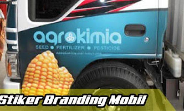 Stiker Branding_Striping mobil